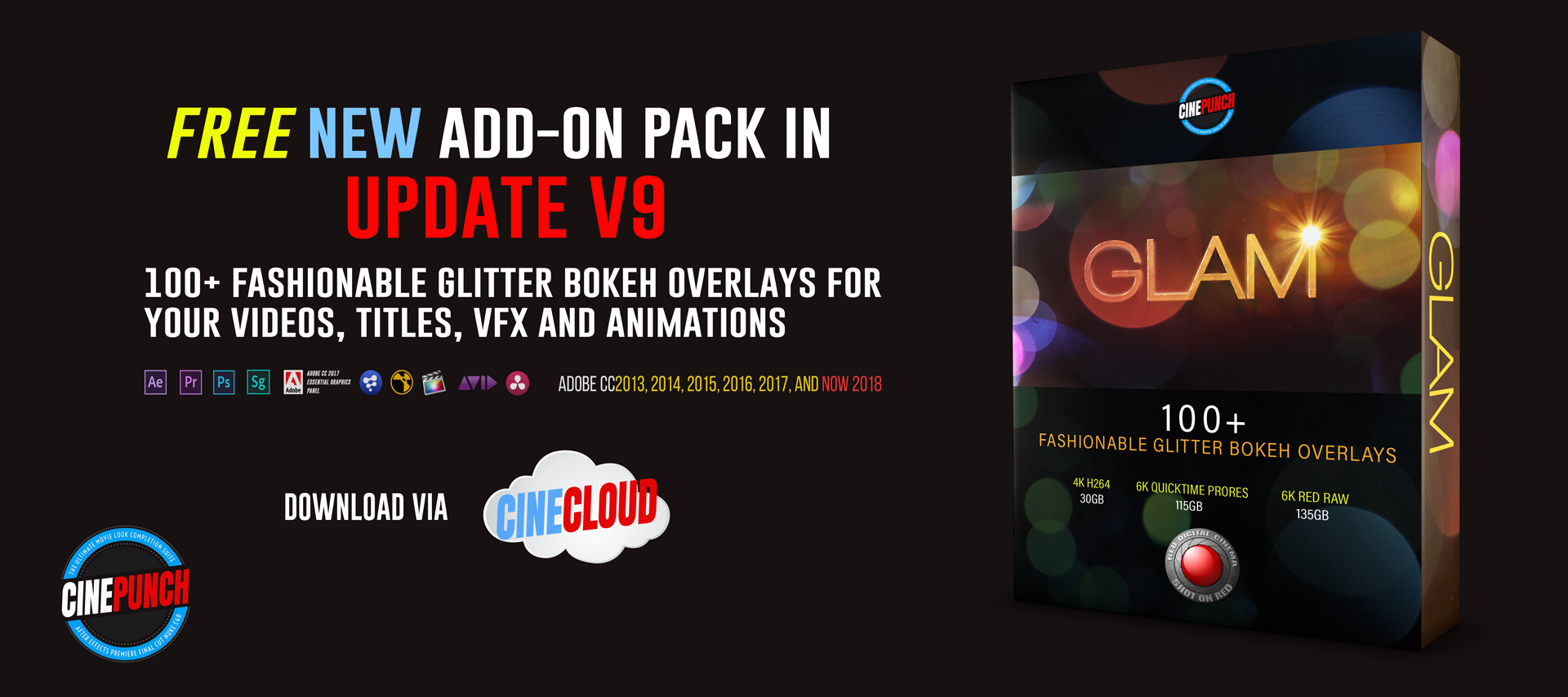 Video Creator Bundle Pack Download Libraries & Updates | CINEPUNCH